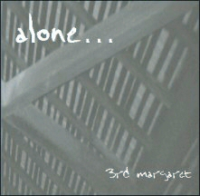 "3rd margaret ""alone..."" CD cover"